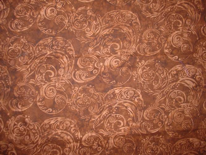 Brown Batik Pezzettino Pezzettino